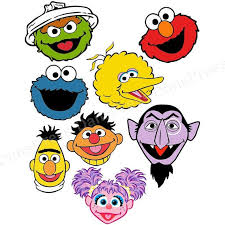 personalized sesame street shirt your choice of character face