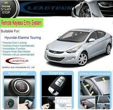 hyundai elantra alarm pke push button start remote keyless starter car alarm system for
