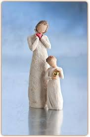 Mother Daughter Keepsakes Willow Tree Je T U0027aime And Keepsake Family Gathering Willow Tree