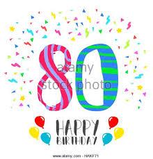 80th birthday party stock photos u0026 80th birthday party stock
