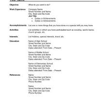 best cv templates word resume examples for journalists template xl