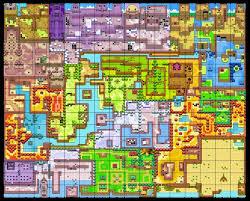 legend of zelda map with cheats legend of zelda map holodrum minecraft project