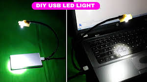 usb light for laptop keyboard how to make a usb powered led light for laptop keyboard youtube