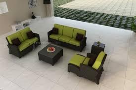 forever patio barbados sofa with cushions u0026 reviews wayfair
