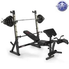 buy marcy diamond elite olympic weight bench with squat rack with