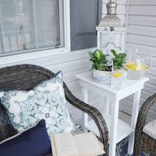 Home Decorators Outdoor Cushions by The Cheerful Home Summer Front Porch Refresh