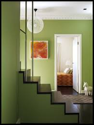 decorated homes interior moooi pendant l with green wall painting and small home