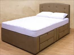 Cool Bed Frames With Storage Bedroom Awesome King Platform Bed With Storage Upholstered