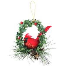 cardinal ornaments