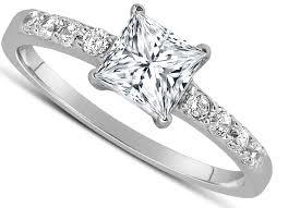unique princess cut engagement rings unique princess cut rings with princess cut