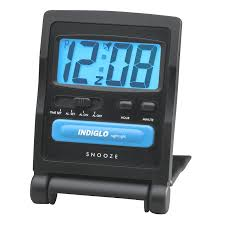 Timex digital travel alarm clock black 3502tw london drugs