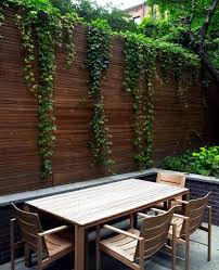 Ideas For Garden Furniture by Screening Fence Or Garden Wall U2013 102 Ideas For Garden Design