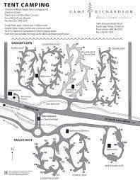 Yellowstone Lodging Map Campground Map Camp Richardson Historic Resort U0026 Marina