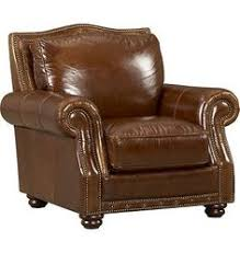 Havertys Leather Sofa by Bailey Chair Leather 799 34
