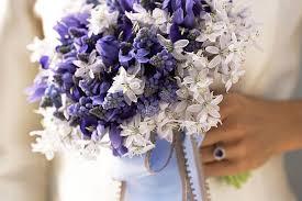 purple bouquets purple bridal bouquet