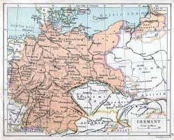 Map Of Germany In Europe by Weimar Republic 1921 Full Size