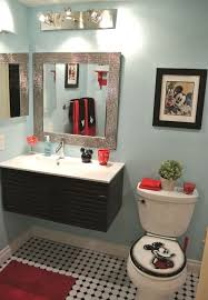 Home Decor Bathroom Ideas Fancy Mickey Mouse Bathroom Ideas With Disney Mickey Mouse