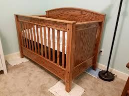 Oak Convertible Crib Oak Convertible Crib Quickcrafter Best Of Diy Pinterest