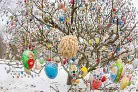 german easter egg tree photos german easter egg tree