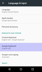 add language to android add keyboard in another language android marshmallow