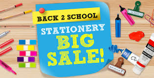 stationery big sale
