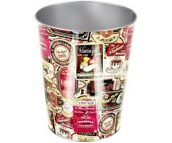 poubelle bureau corbeille de bureau poubelle a papier pub vintage usa 7942