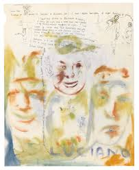 thank you letter to your girlfriend lucian freud s silly and suggestive teenage letters go up for sale freud letter to stephen spender 1941 self portrait