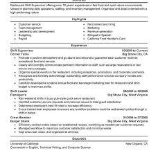 Resume Supervisor Download Customer Service Supervisor Resume Haadyaooverbayresort Com