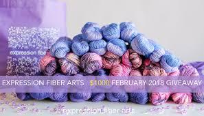 february 2018 expression fiber arts yarn giveaway u2013 expression