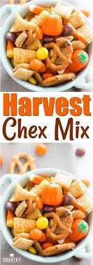 harvest chex mix recipe from the country cook spooky