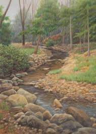 landscape drawings colored pencil fleagorcom