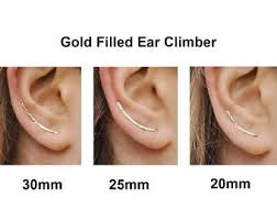 ear climber earring ear climber earrings etsy