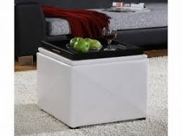 ottoman cube with tray foter