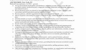 medical information specialist sample resume example deputy clerk