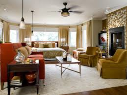 Brown And Yellow Living Room by Master Bedroom Paint Color Ideas Hgtv