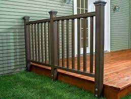 Installing Balusters And Handrails How To Install A Composite Railing Home Improvement And Repair
