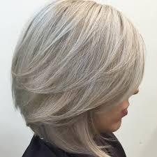 90 sensational medium length haircuts for thick hair silver