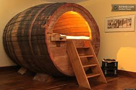 beer hotel bed in germany made from old beer barrel huffpost