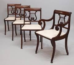Duncan Phyfe Dining Room Set 22 Best Lyre Back 1940 Dining Room Furniture Images On Pinterest