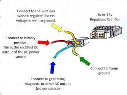 4 wire regulator rectifier wiring diagram efcaviation com