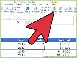 What Is A Pivot Table Excel How To Create A Chart From A Pivot Table 10 Steps With Pictures