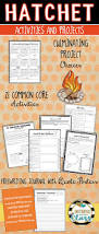 hatchet reading response activities and projects common core