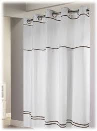 Hookless Waffle Shower Curtain Hookless Fabric Shower Curtain Foter
