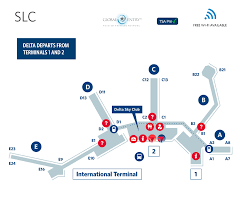 mco terminal map salt lake city international airport terminal map slc delta