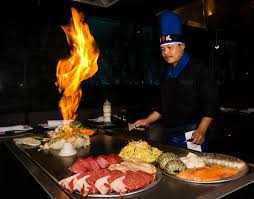 hibachi chefs have a lot of pain in the customers u2013 pain in