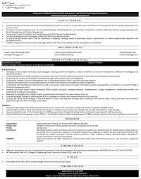 Sample Resume For Mba Freshers by Digital Marketing Resume Samples Sample Resume For Digital