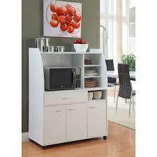 meuble cuisine micro onde desserte micro onde blanche 103 cm achat vente desserte billot