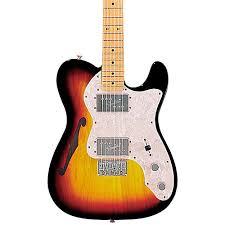 fender classic series u002772 telecaster thinline electric guitar