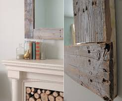 How To Decorate A Large Wall by How To Build And Decorate With Rustic Mirror Frames