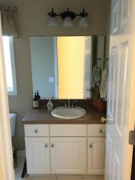 big reveal update a builder basic bathroom postbox designs